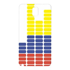 Volumbia Olume Circle Yellow Blue Red Samsung Galaxy Note 3 N9005 Hardshell Back Case