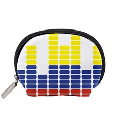 Volumbia Olume Circle Yellow Blue Red Accessory Pouches (Small)