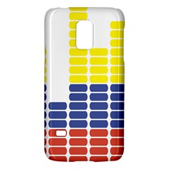 Volumbia Olume Circle Yellow Blue Red Galaxy S5 Mini