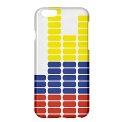 Volumbia Olume Circle Yellow Blue Red Apple iPhone 6 Plus/6S Plus Hardshell Case