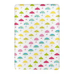 Umbrella Tellow Blue Red Pink Green Color Rain Kid Samsung Galaxy Tab Pro 12 2 Hardshell Case