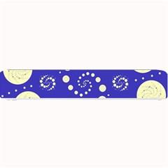 Vortical Universe Fractal Blue Small Bar Mats