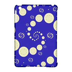 Vortical Universe Fractal Blue Apple iPad Mini Hardshell Case (Compatible with Smart Cover)