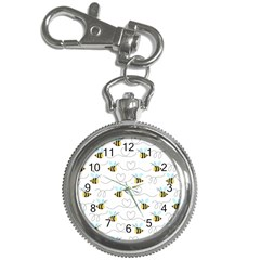 Wasp Bee Fly Yellow Black Blue Hanny Love Key Chain Watches