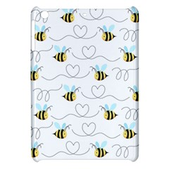 Wasp Bee Fly Yellow Black Blue Hanny Love Apple iPad Mini Hardshell Case