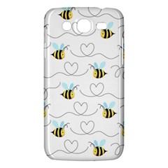 Wasp Bee Fly Yellow Black Blue Hanny Love Samsung Galaxy Mega 5.8 I9152 Hardshell Case