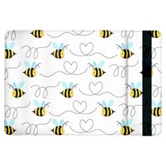 Wasp Bee Fly Yellow Black Blue Hanny Love iPad Air Flip