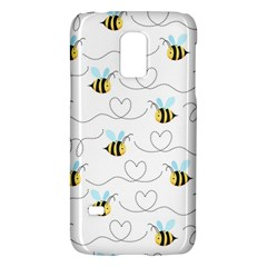 Wasp Bee Fly Yellow Black Blue Hanny Love Galaxy S5 Mini