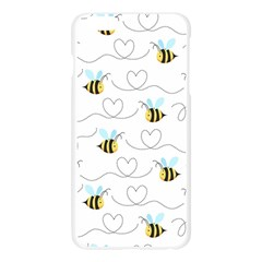 Wasp Bee Fly Yellow Black Blue Hanny Love Apple Seamless iPhone 6 Plus/6S Plus Case (Transparent)