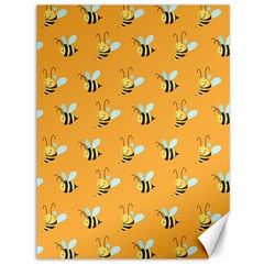 Wasp Bee Hanny Yellow Fly Animals Canvas 36  x 48