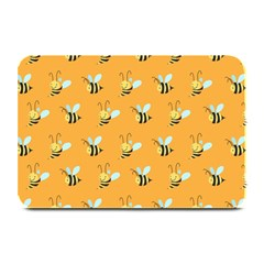Wasp Bee Hanny Yellow Fly Animals Plate Mats