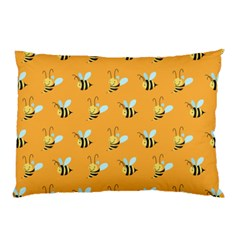 Wasp Bee Hanny Yellow Fly Animals Pillow Case