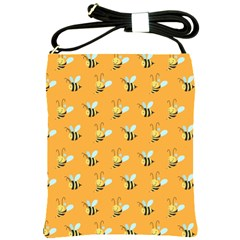 Wasp Bee Hanny Yellow Fly Animals Shoulder Sling Bags