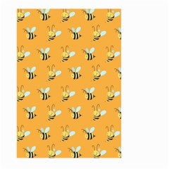 Wasp Bee Hanny Yellow Fly Animals Large Garden Flag (Two Sides)