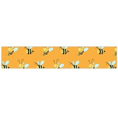 Wasp Bee Hanny Yellow Fly Animals Flano Scarf (large)