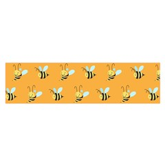 Wasp Bee Hanny Yellow Fly Animals Satin Scarf (Oblong)