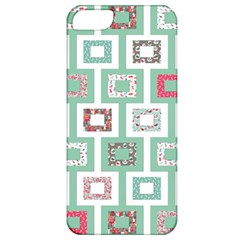 Foto Frame Cats Quilt Pattern View Collection Fish Animals Apple iPhone 5 Classic Hardshell Case