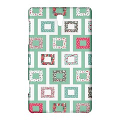 Foto Frame Cats Quilt Pattern View Collection Fish Animals Samsung Galaxy Tab S (8.4 ) Hardshell Case