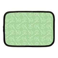 Formula Leaf Floral Green Netbook Case (Medium)