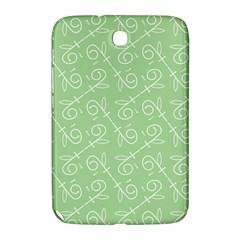 Formula Leaf Floral Green Samsung Galaxy Note 8.0 N5100 Hardshell Case