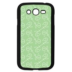 Formula Leaf Floral Green Samsung Galaxy Grand DUOS I9082 Case (Black)