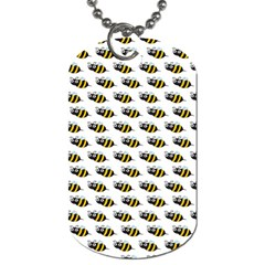 Wasp Bee Eye Fly Line Animals Dog Tag (One Side)