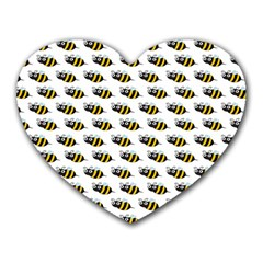 Wasp Bee Eye Fly Line Animals Heart Mousepads