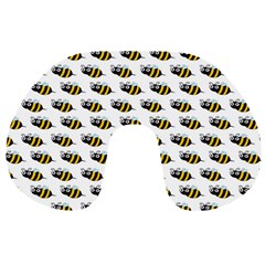 Wasp Bee Eye Fly Line Animals Travel Neck Pillows