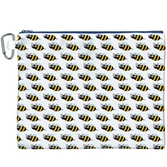 Wasp Bee Eye Fly Line Animals Canvas Cosmetic Bag (xxxl)