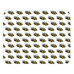 Wasp Bee Eye Fly Line Animals Double Sided Flano Blanket (Large)