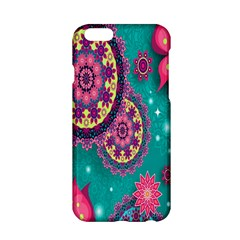 Vintage Butterfly Floral Flower Rose Star Purple Pink Green Yellow Animals Fly Apple Iphone 6/6s Hardshell Case