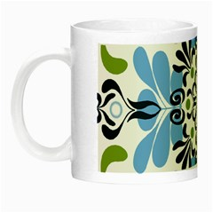 Flower Floral Jpeg Night Luminous Mugs
