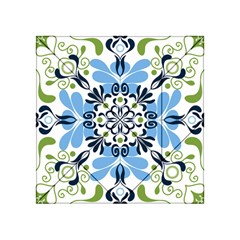 Flower Floral Jpeg Acrylic Tangram Puzzle (4  x 4 )