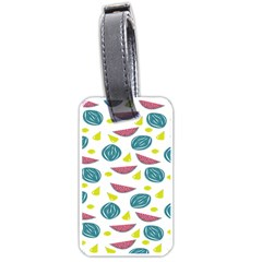 Summer Fruit Watermelon Water Guava Onions Luggage Tags (Two Sides)