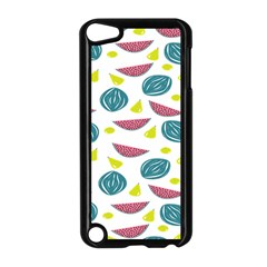 Summer Fruit Watermelon Water Guava Onions Apple iPod Touch 5 Case (Black)