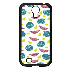 Summer Fruit Watermelon Water Guava Onions Samsung Galaxy S4 I9500/ I9505 Case (Black)