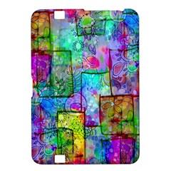 Rainbow Floral Doodle Kindle Fire HD 8.9