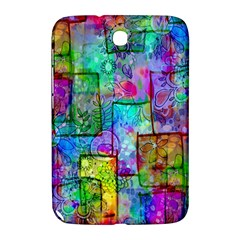 Rainbow Floral Doodle Samsung Galaxy Note 8.0 N5100 Hardshell Case