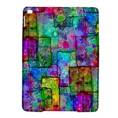Rainbow Floral Doodle iPad Air 2 Hardshell Cases