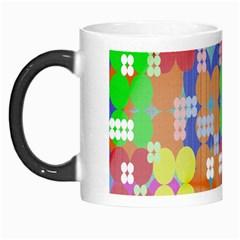 Abstract Polka Dot Pattern Morph Mugs