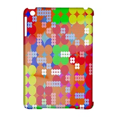 Abstract Polka Dot Pattern Apple iPad Mini Hardshell Case (Compatible with Smart Cover)