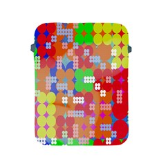 Abstract Polka Dot Pattern Apple Ipad 2/3/4 Protective Soft Cases