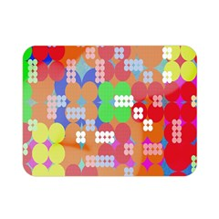 Abstract Polka Dot Pattern Double Sided Flano Blanket (Mini)