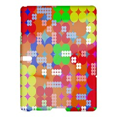 Abstract Polka Dot Pattern Samsung Galaxy Tab S (10 5 ) Hardshell Case