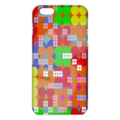 Abstract Polka Dot Pattern Iphone 6 Plus/6s Plus Tpu Case