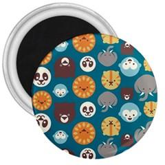 Animal Pattern 3  Magnets
