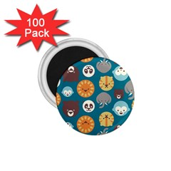 Animal Pattern 1.75  Magnets (100 pack)