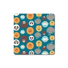 Animal Pattern Square Magnet