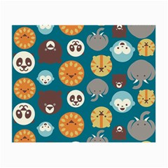 Animal Pattern Small Glasses Cloth