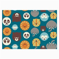 Animal Pattern Large Glasses Cloth (2-Side)